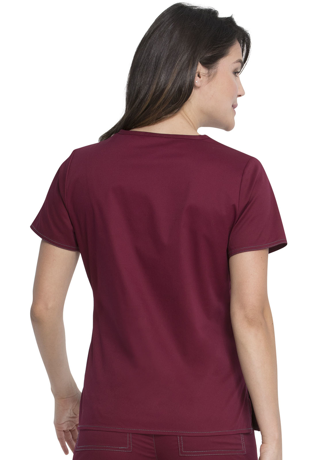 DICKIES Mulberry V-Neck Women's Top 817455