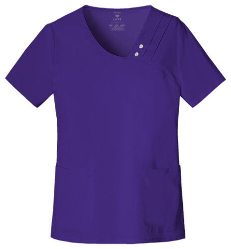 CHEROKEE Grape Crossover V-Neck Top 1999