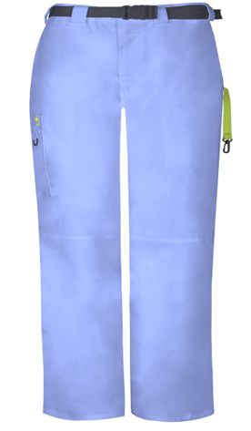 CODE HAPPY Ciel Blue Tall Men's Pants CH205AT