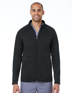 BLAZE Blaze Black Men's Warm Up Jacket 3814