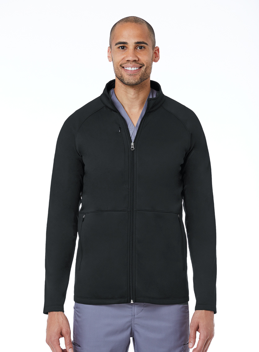 BLAZE Black Blaze Men's Warm Up Jackets 3814