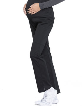 CHEROKEE WORKWEAR Black Maternity Pants 4208