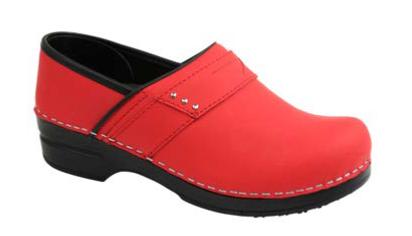 SANITA Sanita Prof Penelope Red Shoes 38 (US 7/7.5) S21