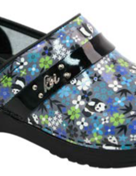 SANITA Sanita Panda Flower Shoes