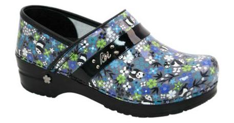 SANITA Sanita Panda Flower Shoes