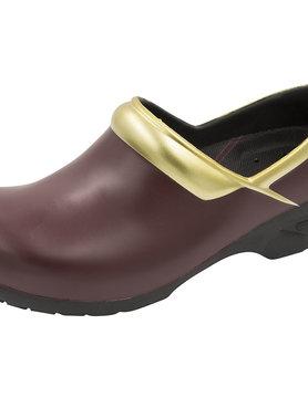 ANYWEAR Anywear Women's Nursing Shoes in Burgundy