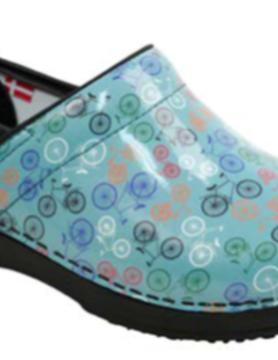 SANITA Sanita Wave Brooklin Teal Nursing Shoes