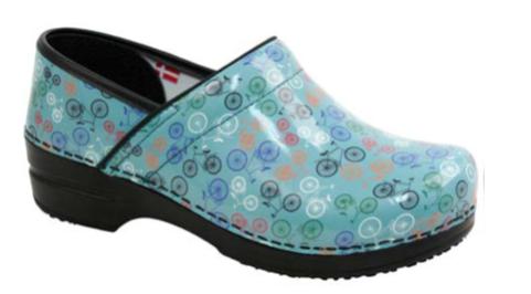 SANITA Sanita Wave Brooklin Teal Shoes