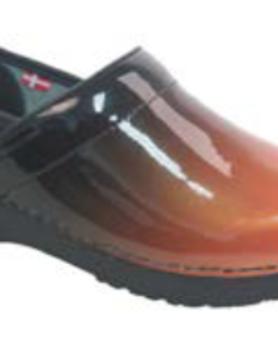 SANITA Sanita Prof Milan Orange Nursing Shoes