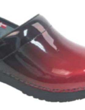 SANITA Sanita Prof Milan Red Shoes