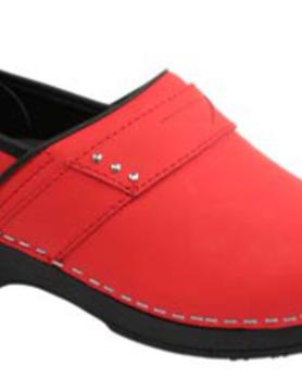 SANITA Sanita Prof Penelope Red Nursing Shoes