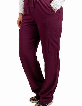 Excel Burgundy Women's Scrub Pants 727