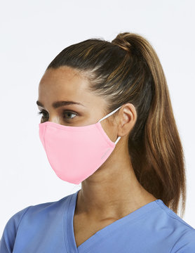 Agion Blush Pink Reusable Face Mask Large CM010