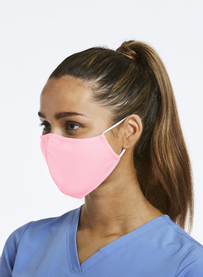 Agion Blush Pink Reusable Face Mask Large CM010