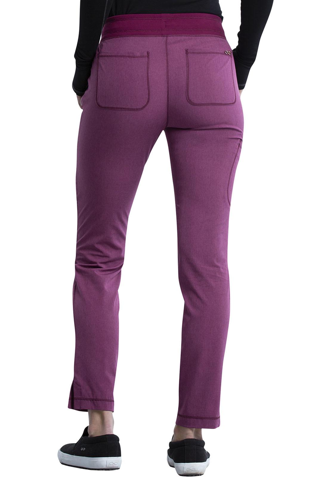 CHEROKEE Pull-on Pant Heather Wine CK135A