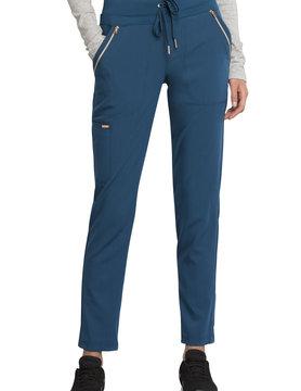 CHEROKEE Cherokee Caribbean Blue Women's Drawstring Scrub Pants CK055