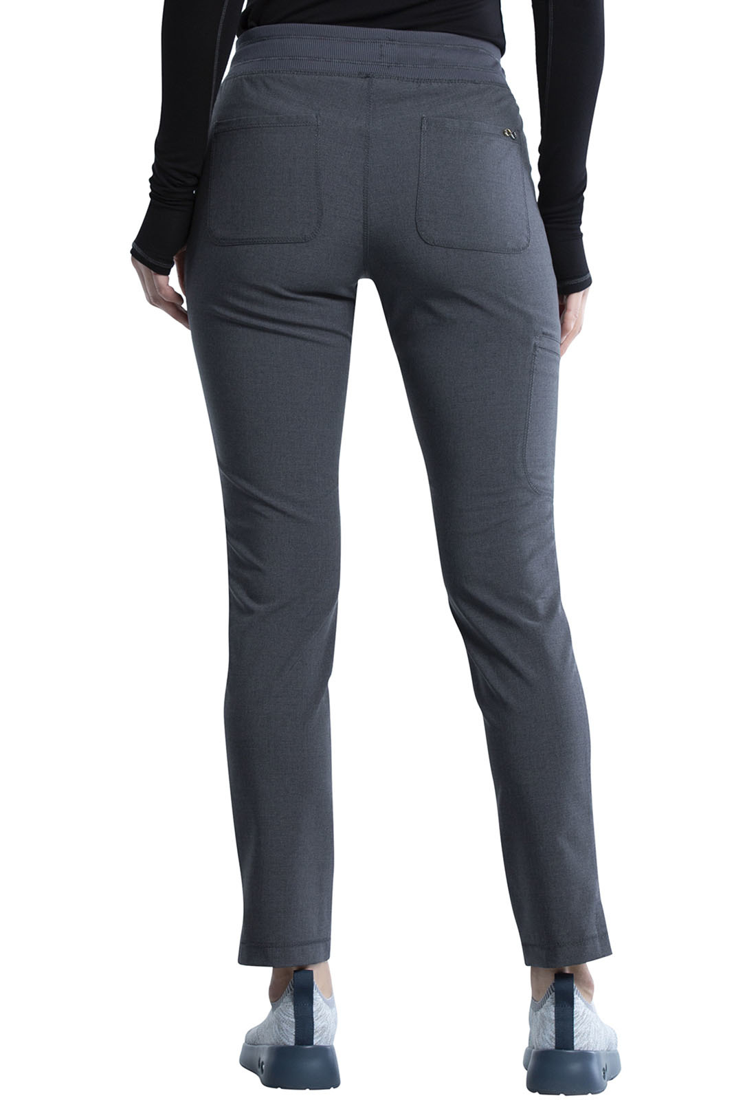 CHEROKEE Pull-on Pants Heather Charcoal CK135A
