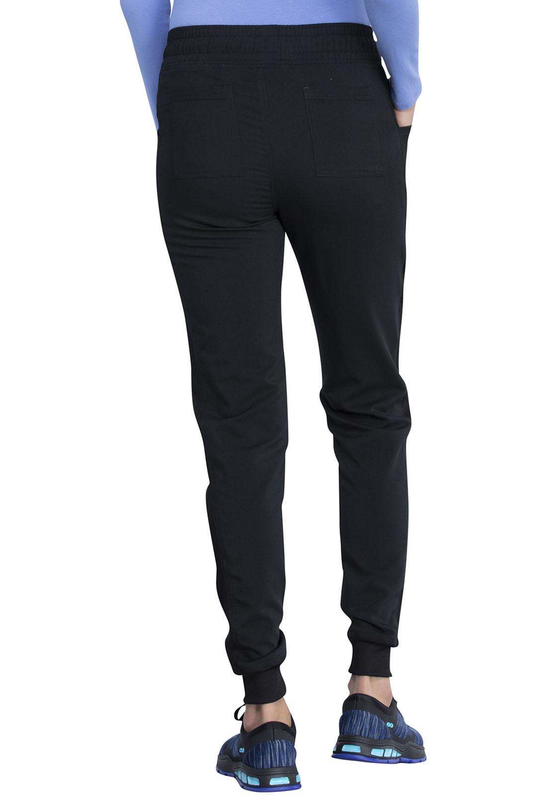 CHEROKEE Mid Rise Jogger Pants Black DK155