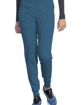 DICKIES Dickies Caribbean Blue Mid Rise Jogger Scrub Pants DK155 Tall