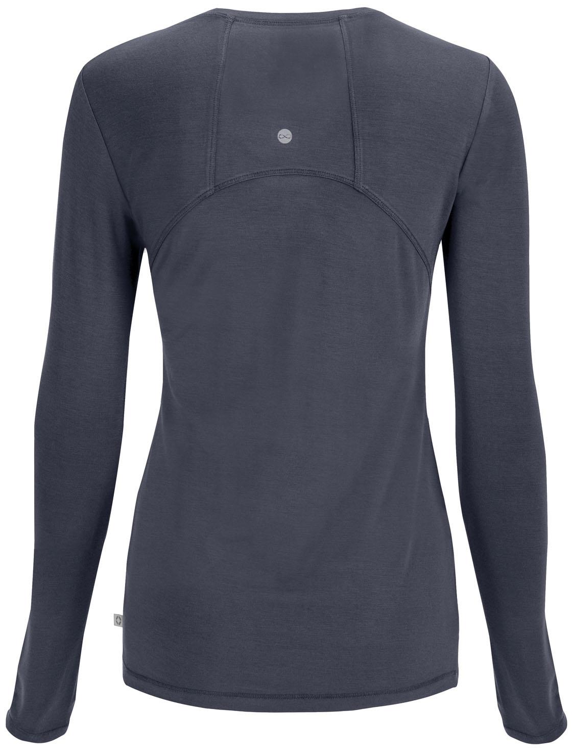 CHEROKEE Pewter Grey Long Sleeve Women's Underscrub Shirts 2626A