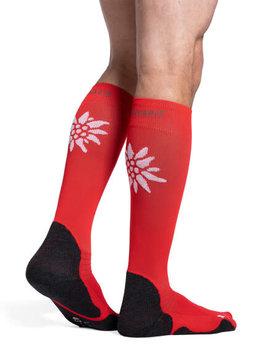 462 Motion Swiss Mountain Sock Red (59)