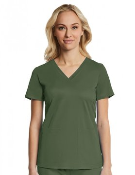 EON Sports Olive Green Eon Sport Women's Top 1768 Medium