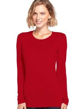 CHEROKEE WORKWEAR Underscrub Knit Tee Red 4881
