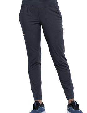 CHEROKEE Cherokee Pewter Grey Pull-On Women's Scrub Pants CK175