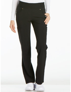 CHEROKEE Cherokee Black Pull-On Women's Scrub Pants CK002T-BLK-XL