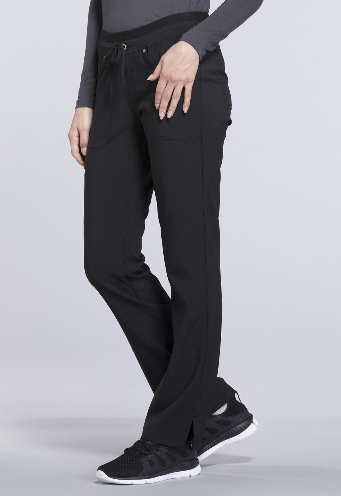 CHEROKEE Drawstring Pants Black CK010P-BLK-M