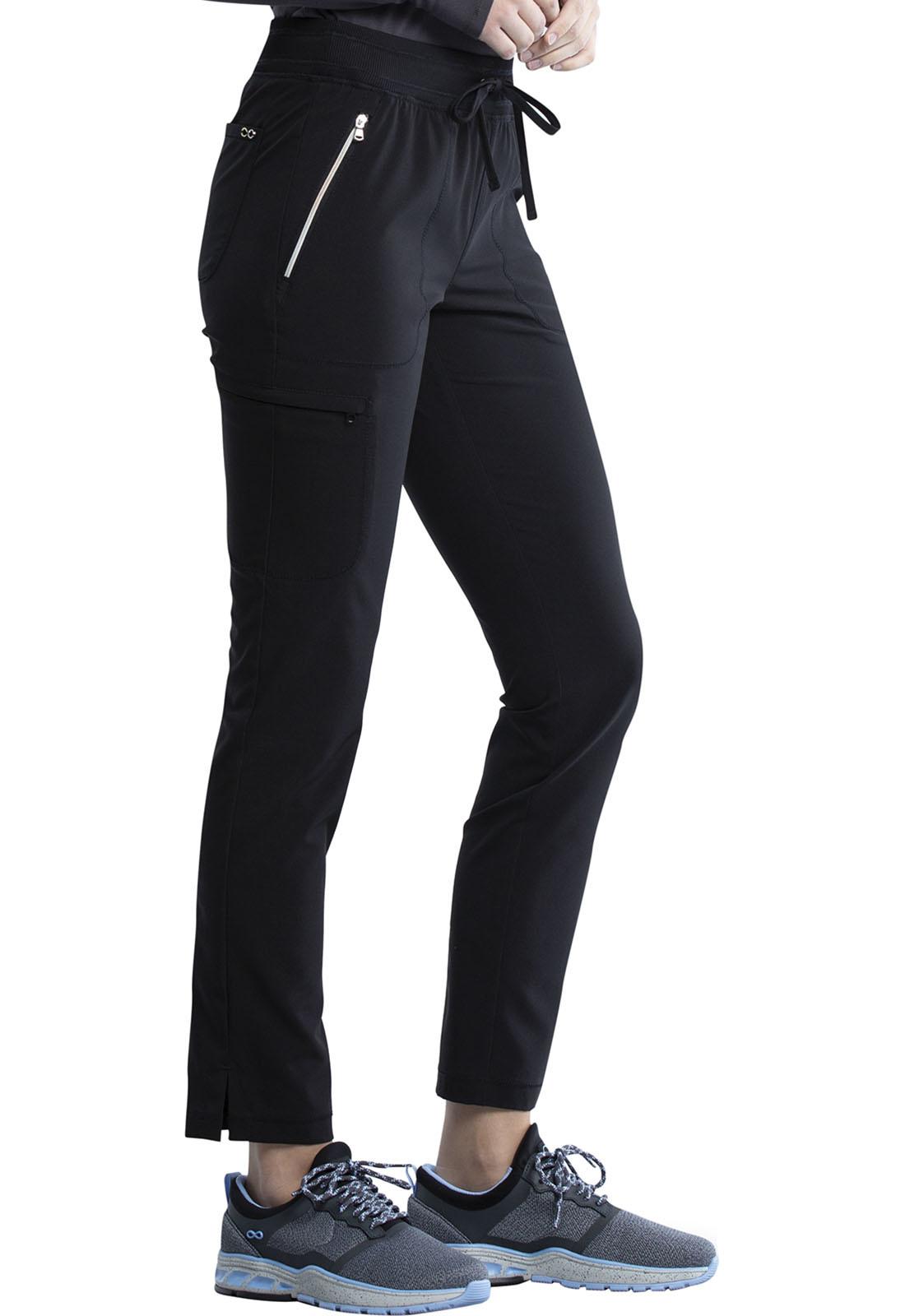CHEROKEE Pull-on Pants Black CK135A-BAPS-XL
