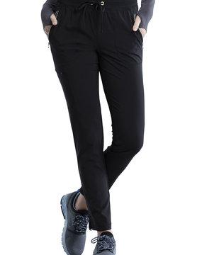CHEROKEE Cherokee Black Pull-On Women's Scrub Pants CK135AP
