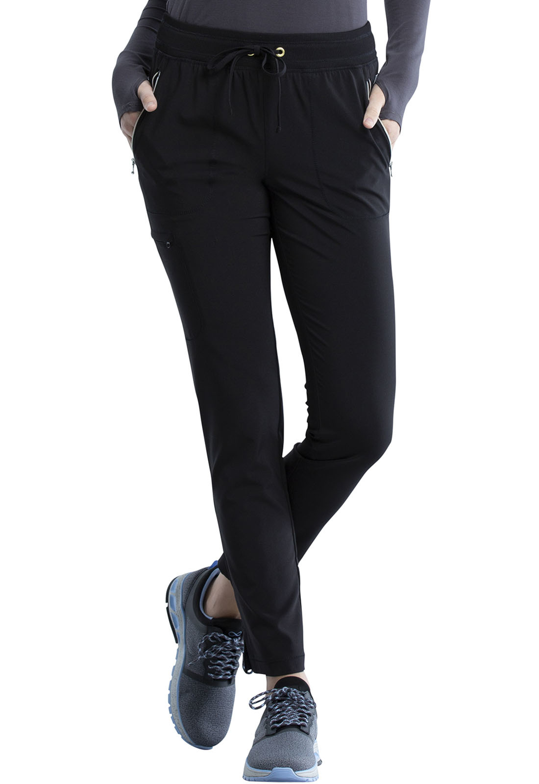 CHEROKEE Pull-on Pants Black CK135AP