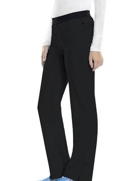 CHEROKEE Cherokee Black Pull-On Women's Scrub Pants 1124AP