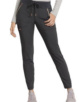 CHEROKEE Drawstring Pewter Grey Women's  Scrub Pants CK055