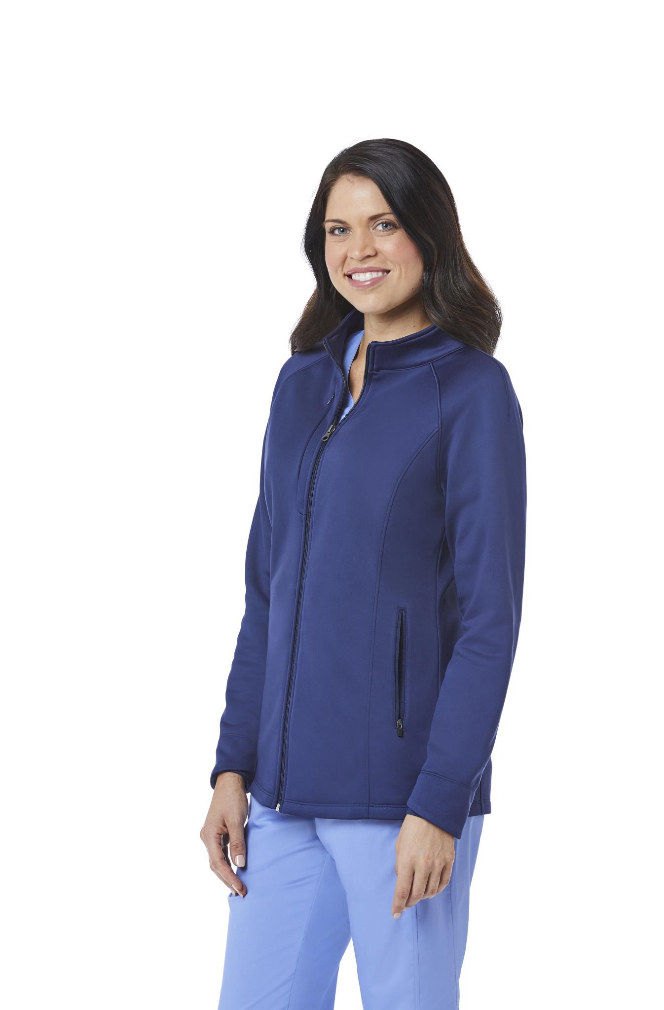 BLAZE Navy Blue Blaze Women's Warm Up Jackets 3812