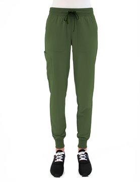 MATRIX IMPULSE OliveYoga Waistband Petite Women's Jogger Pants 8520P