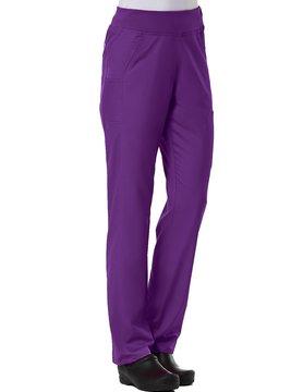 Eggplant Pure Yoga 7-Pocket Women's Scrub Pants 7338
