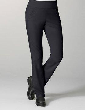 Black Pure Yoga 7-Pocket Tall Women's Scrub Pants 7338T