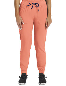 MATRIX IMPULSE Matrix Impulse Salmon Yoga Waistband Women's Jogger Scrub Pants 8520