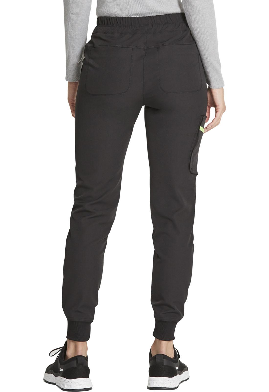 DICKIES Black Women's Jogger Scrub Pants DK234-BLK