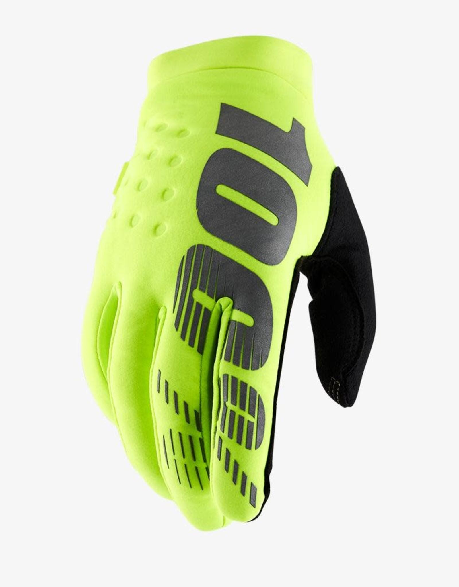 100% 100% Brisker Cold Weather Gloves - Mens