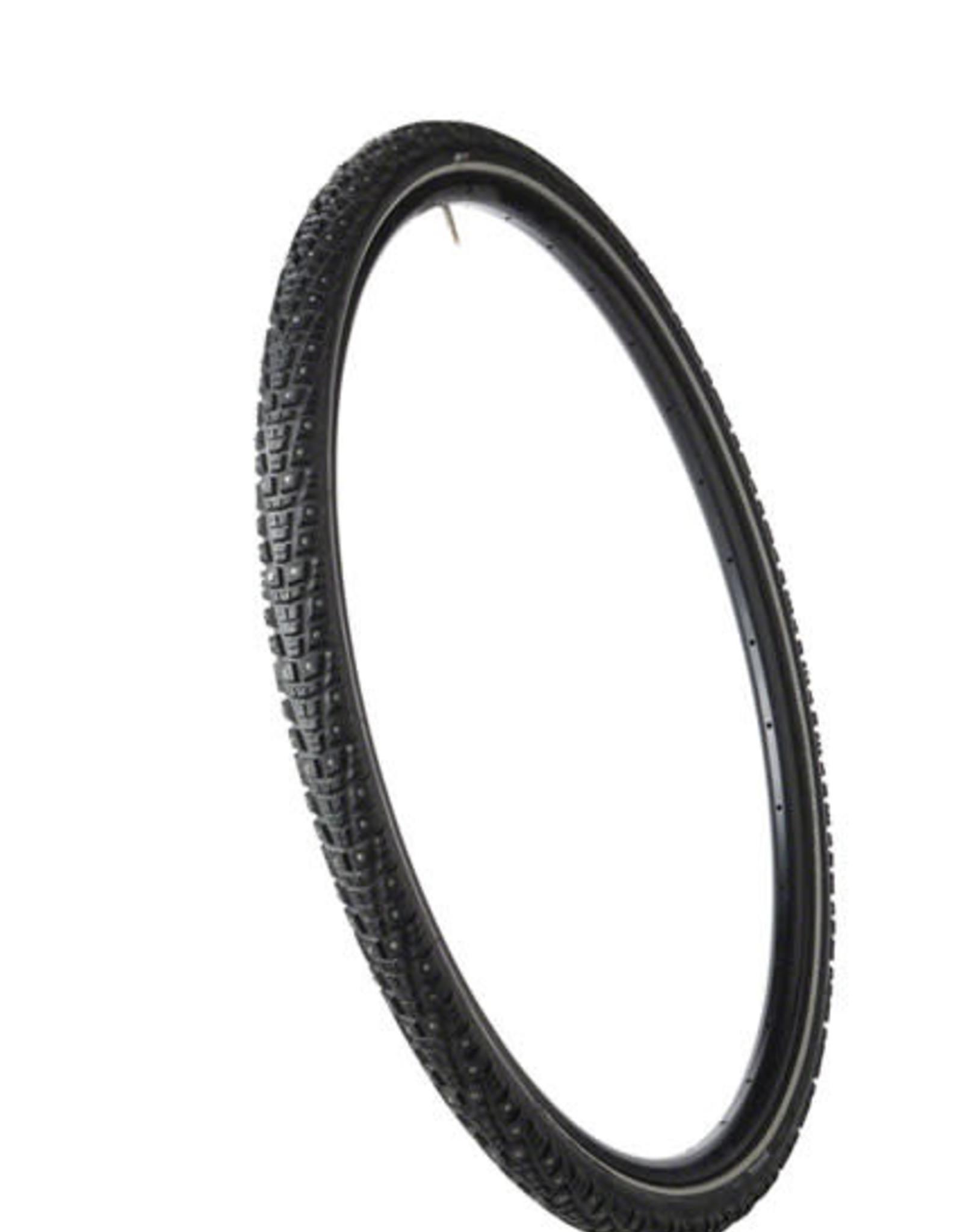 45NRTH 45NRTH Gravdal Tire - 700 x 38, Clincher, Steel, Black, 33tpi, 252 Carbide Steel Studs