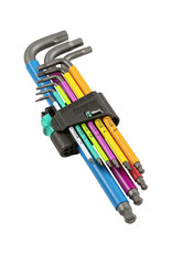 Wera Tools Wera Tools Hex Plus Multicolour Long Arm L-Key Set, Metric, 9 Pieces