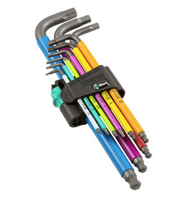 Wera Tools Wera Tools Hex Plus Multicolour Long Arm L-Key Set, Metric, 9 Pieces