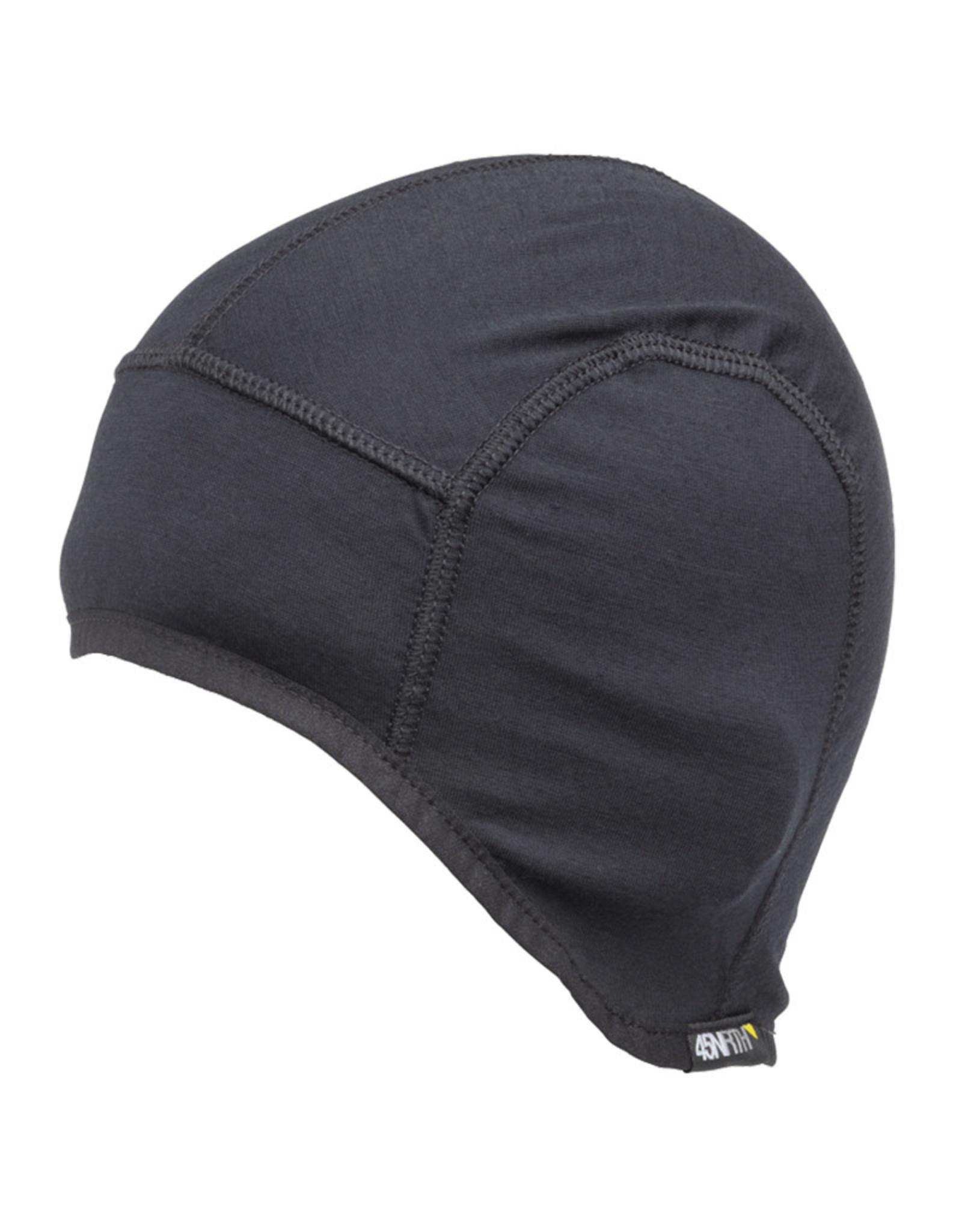 45NRTH 45NRTH Stavanger Helmet Liner Hat: Black