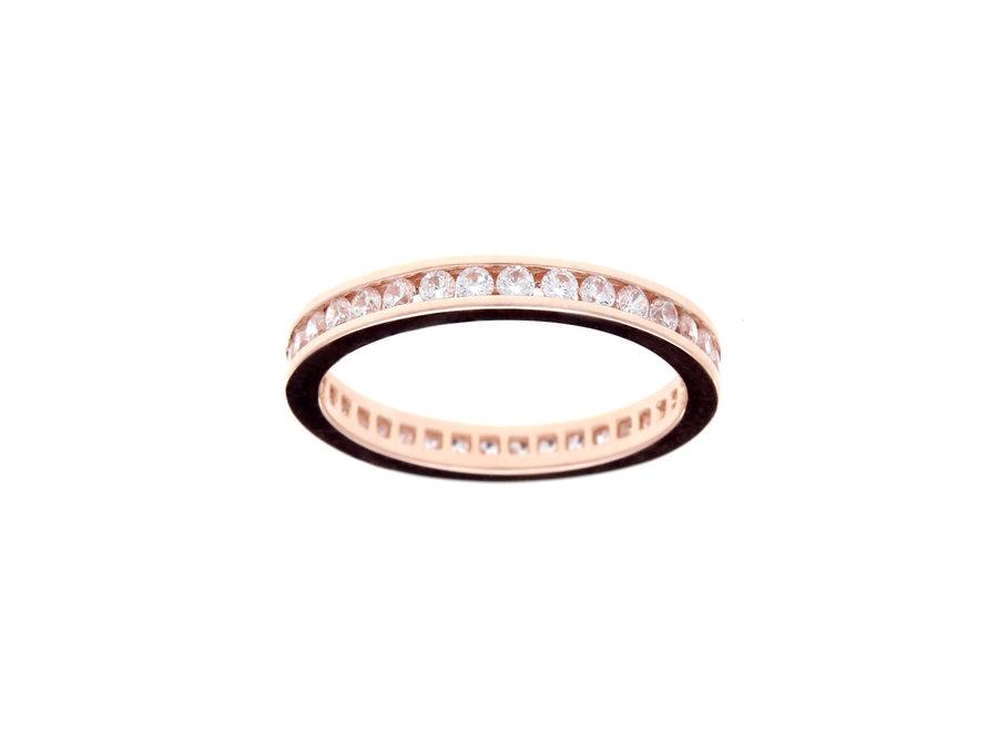 ETERNITY ROSE GOLD RING (R1172-RG)