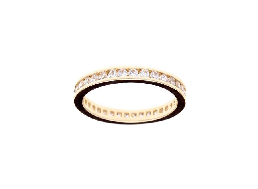 ETERNITY GOLD RING (R1172-GP)