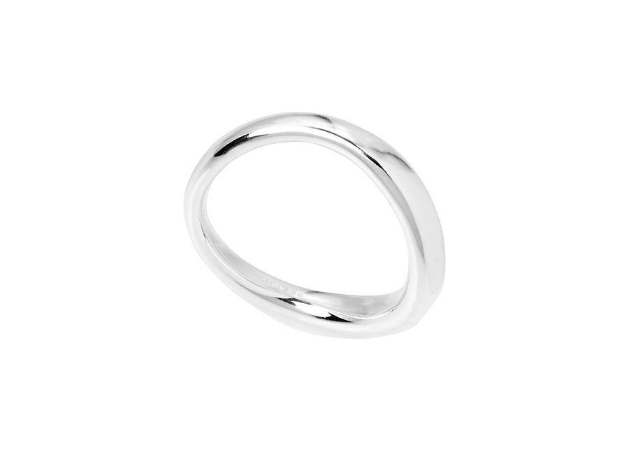 HALO RING SILVER