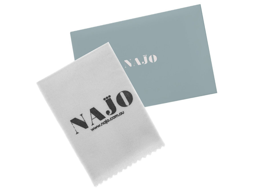 NAJO JEWELLERY CLEANING CLOTH